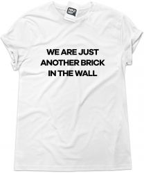 Camiseta e bolsa PINK FLOYD - We're just another brick in the wall