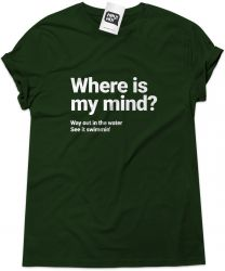 Camiseta e bolsa PIXIES - Where Is My Mind