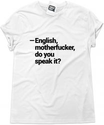 Camiseta e bolsa PULP FICTION - English