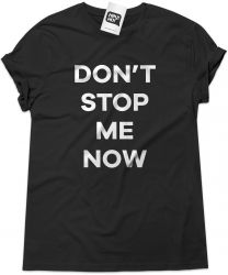 Camiseta e bolsa QUEEN - Don't stop me now