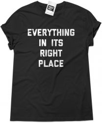 Camiseta e bolsa RADIOHEAD - Everything in its right place