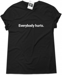 Camiseta e bolsa REM - Everybody Hurts
