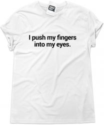 Camiseta e bolsa SLIPKNOT - I push my fingers into my eyes