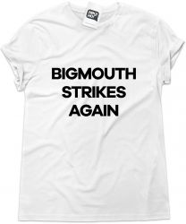 Camiseta e bolsa SMITHS - Bigmouth strikes again