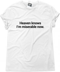 Camiseta e bolsa SMITHS - Heaven knows I'm miserable now