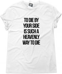 Camiseta e bolsa SMITHS - To die by your side