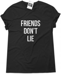 Camiseta e bolsa STRANGER THINGS - Friends Don't Lie