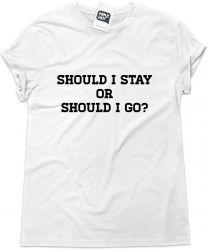Camiseta e bolsa THE CLASH - Should I stay or should I go