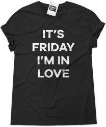 Camiseta e bolsa THE CURE - It's Friday I'm in love