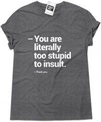 Camiseta e bolsa THE HANGOVER - Stupid