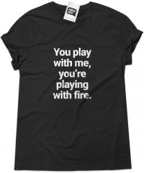 Camiseta e bolsa THE INTERRUPTERS - You play with me