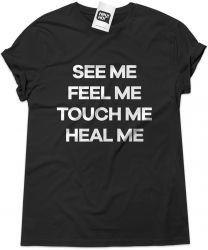 Camiseta e bolsa THE WHO - See me Feel me