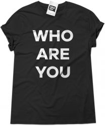 Camiseta e bolsa THE WHO - Who are you