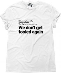 Camiseta e bolsa THE WHO - Won't Get Fooled Again