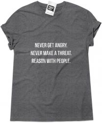 Camiseta e bolsa THEGODFATHER - Never get angry