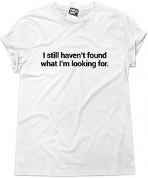 Camiseta e bolsa U2 - I still haven't found