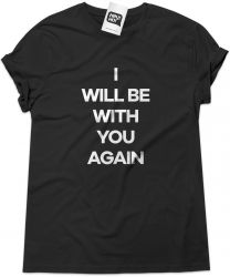 Camiseta e bolsa U2 - I will be with you again