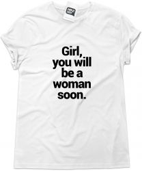 Camiseta e bolsa URGE OVERKILL - Girl, you will be a woman soon