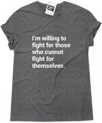 Camiseta e bolsa WONDER WOMAN - I´m Willing to Fight