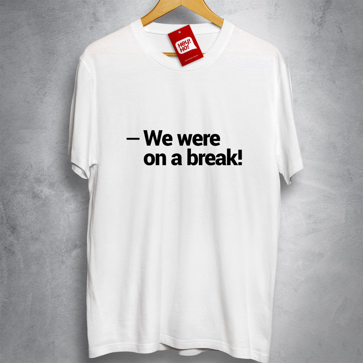 FRIENDS - We were on a break
