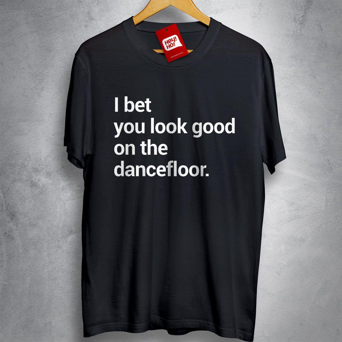 OFERTA - ARCTIC MONKEYS - I bet you look good on the dancefloor - CAMISETA PRETA - Tamanho P
