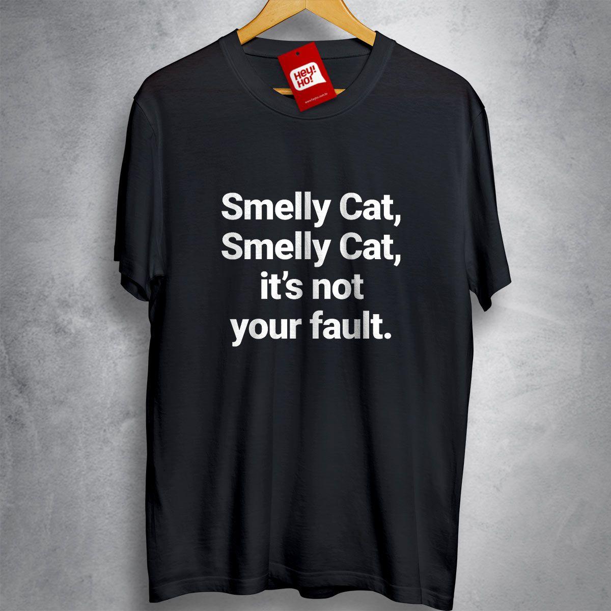 OFERTA - FRIENDS - Smelly Cat - CAMISETA PRETA - Tamanho EXG