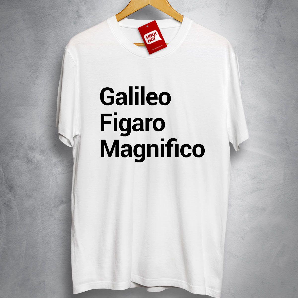 OFERTA - QUEEN - Galileo Figaro Magnifico - Camiseta BRANCA - Tamanho M