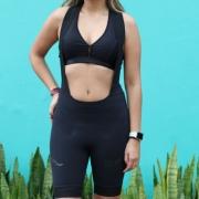 Bretelle Ciclismo Evo Black - Feminino