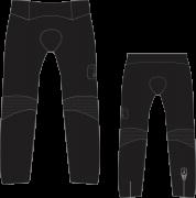 Calça Ciclismo Black Tie - EQUIPE SKY