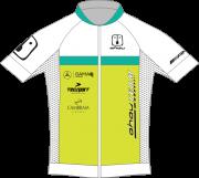 1. Camisa Ciclismo Ahau Team 2020 White EVO