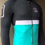 Camisa Ciclismo Aussie Dark Jade - Manga Longa - Masculina