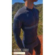 Camisa Ciclismo Aussie Dark - Manga Longa - Masculina