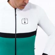 Camisa Ciclismo Aussie Jade White - Manga Longa - Masculina