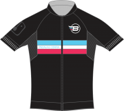 Camisa Ciclismo BikES Preto Rosa Rasta