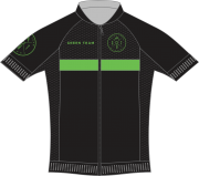 Camisa Ciclismo Green Team 2019