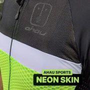 Camisa Ciclismo Label Neon SKIN - Masculina