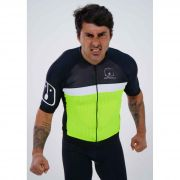 Camisa Ciclismo Label Neon SKIN - Masculina