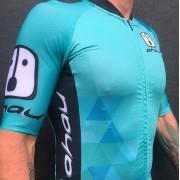 Camisa Ciclismo PES Ahau Jade - Masculina