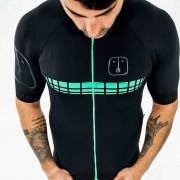 Camisa Ciclismo Racing EVO Black Jade