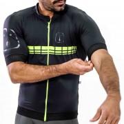 Camisa Ciclismo Racing EVO Black Neon