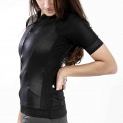 Camisa Ciclismo Warrior Black SKIN