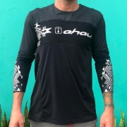 Camisa Enduro Black Warrior M/ Longa - Unissex