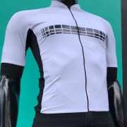 Camisa Ciclismo Racing Evo White - Masculina