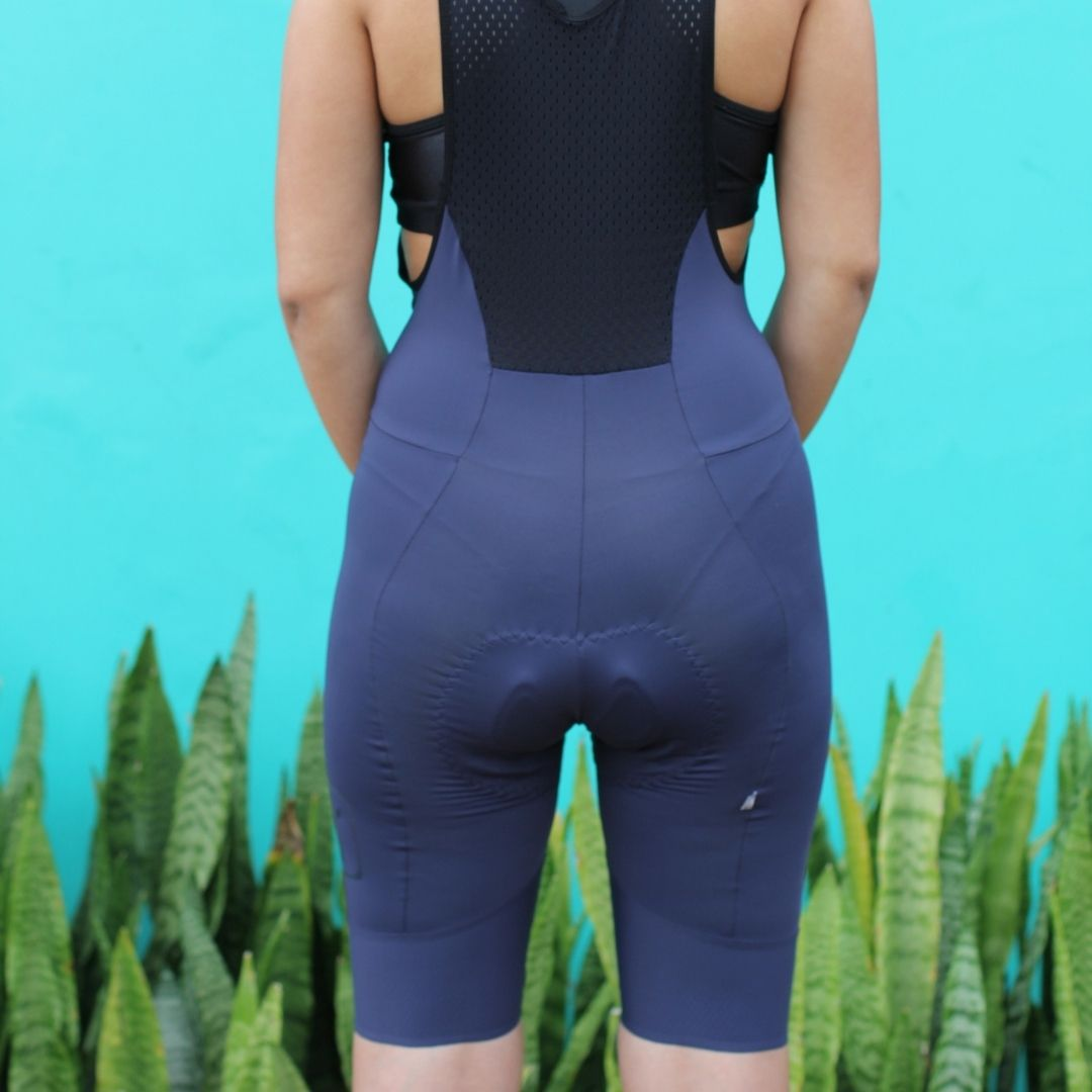 Bretelle Ciclismo Navy - Feminino