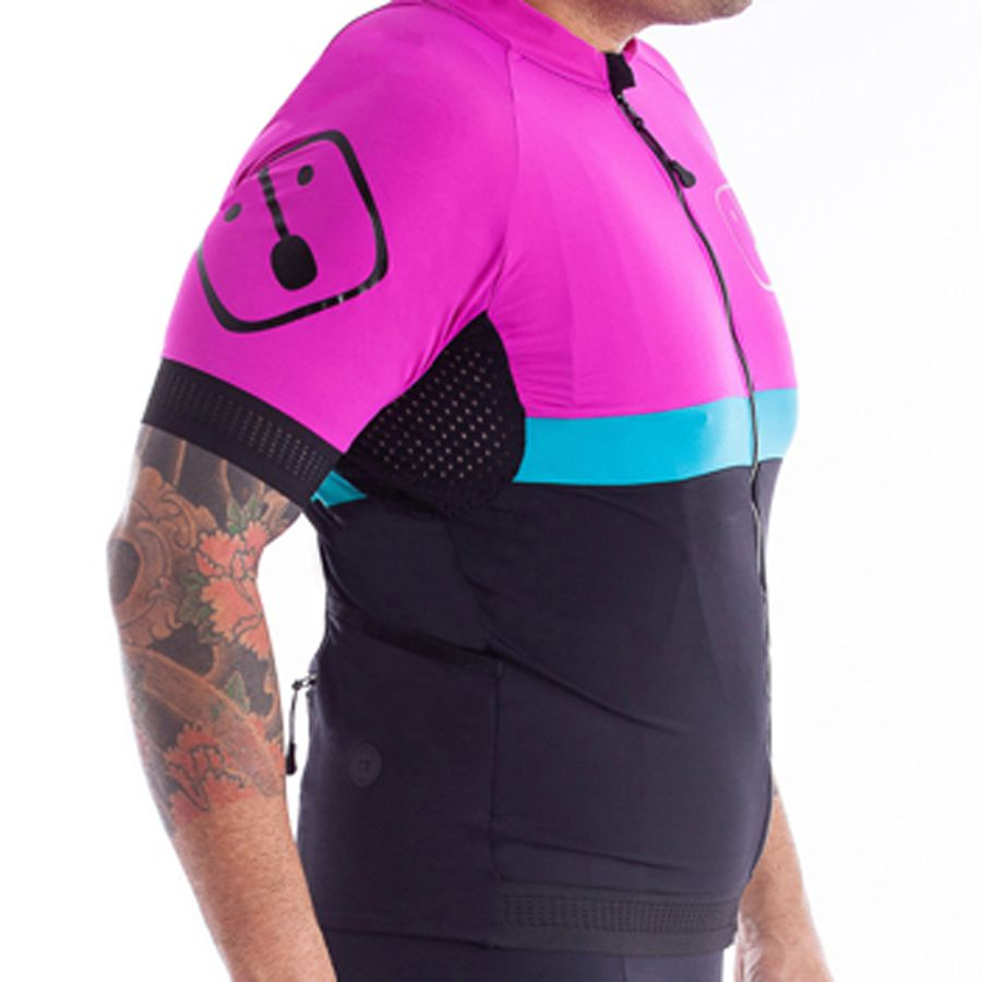 Camisa Ciclismo Aussie Black - Masculina