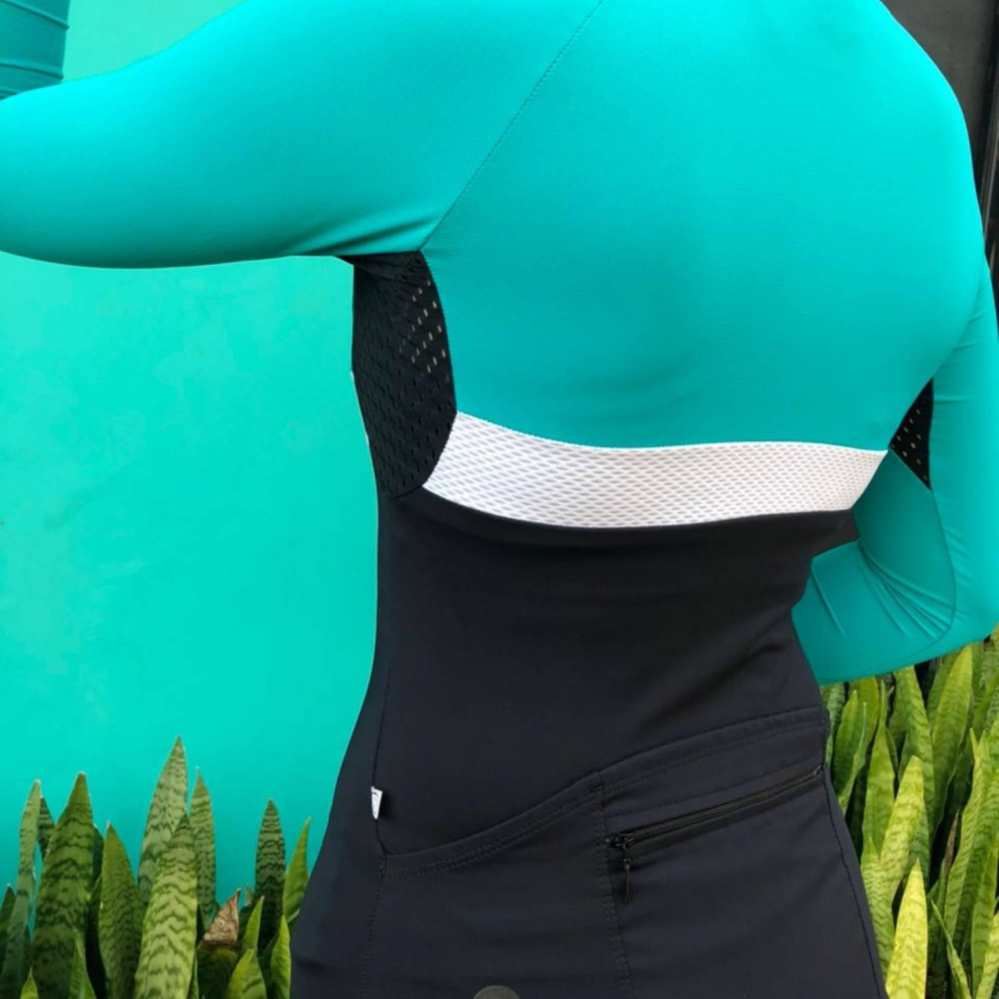 Camisa Ciclismo Aussie Dark / Jade - Feminina