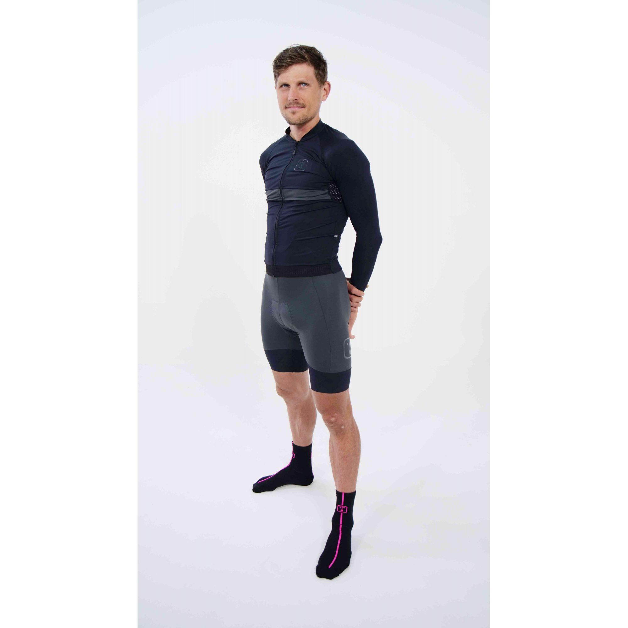 Camisa Ciclismo Aussie Full Dark - Manga Longa - Masculina