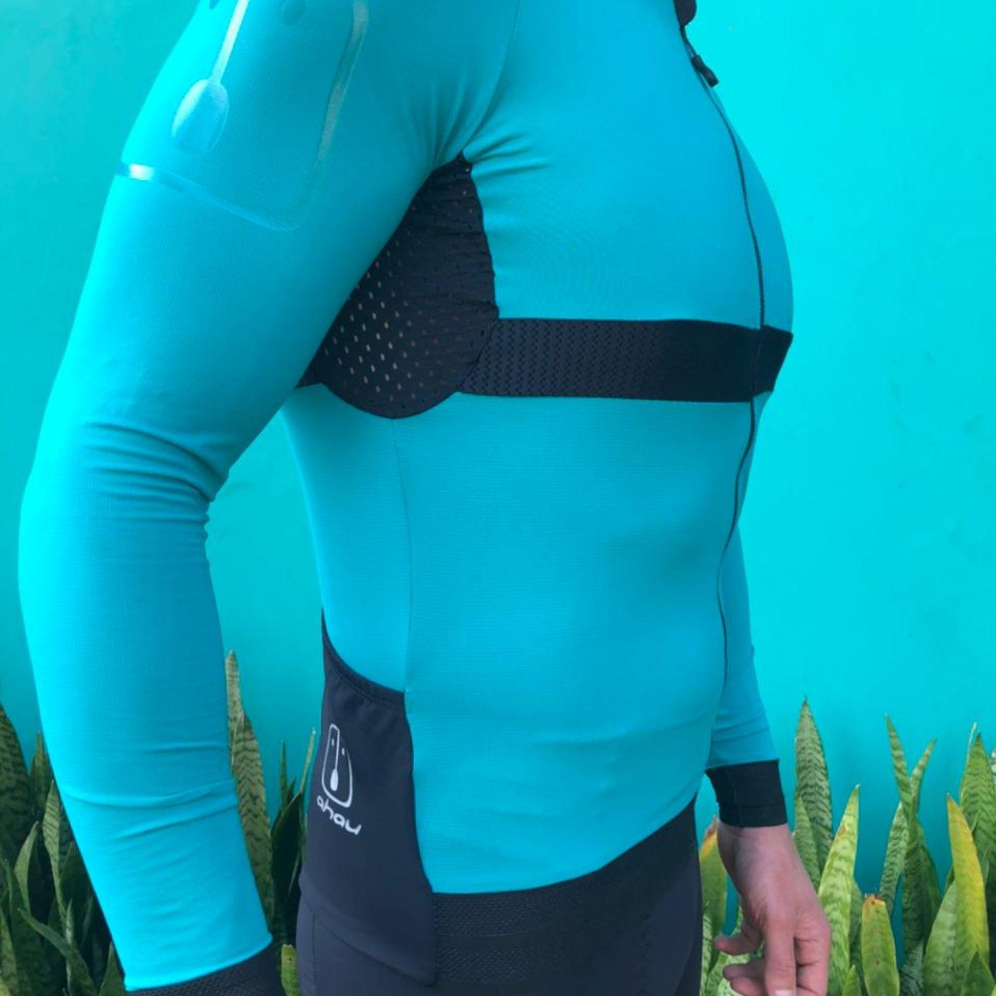 Camisa Ciclismo Aussie Full Jade Light - Masculina