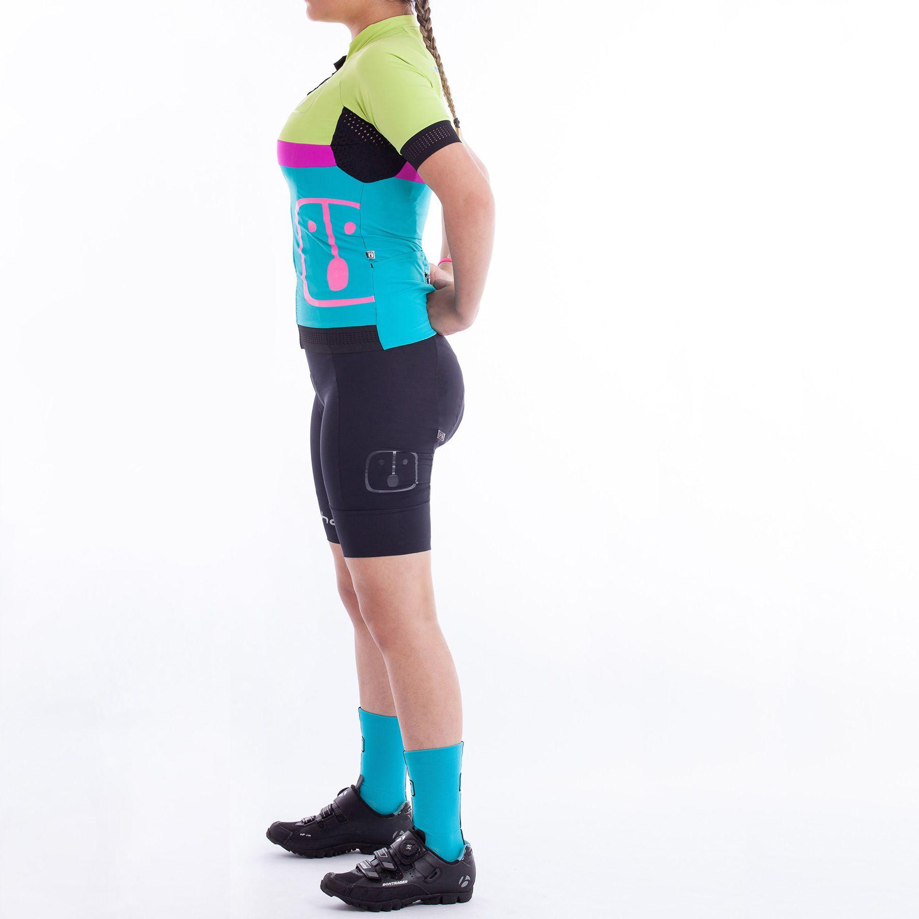 Camisa Ciclismo Aussie Jade - Feminina