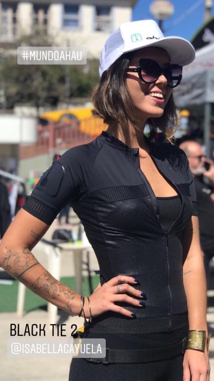 Camisa Ciclismo Black Tie 2 - Feminina